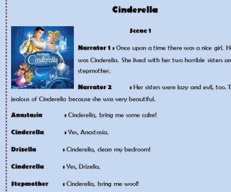 Cinderella Role Play 2
