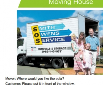 Prepositions: Moving House