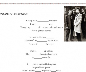 Song Worksheet: Dreams by The Cranberries