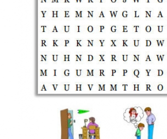 Phrasal Verbs Wordsearch With Pictures