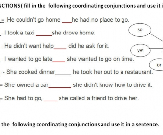 Prepositions and Conjunctions - BusyTeacher: Free Printable ...