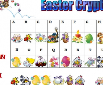 Easter Cryptogram