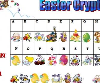 Easter Cryptogram