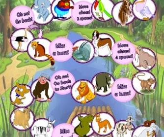 Animals Boardgame II
