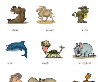 Animals: Complete Beginner Vocabulary Worksheet
