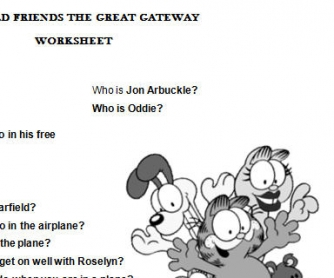 Garfield Friends the Great Gateway