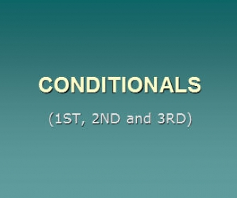 Conditionals PowerPoint