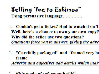 Persuasive Language: Understanding Ethos, Pathos and Logos by ...