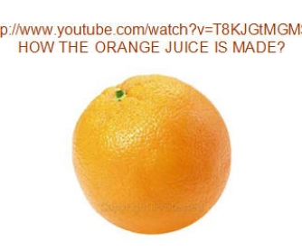 How the Orange Juice is Made