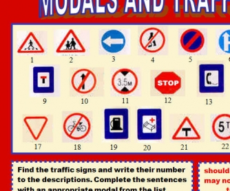 Modals and Traffic Signs