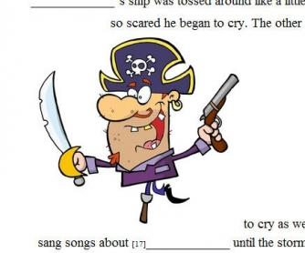 A Pirate Mad Lib