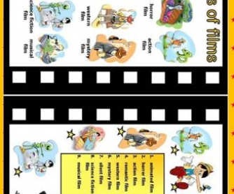 of Films Worksheet