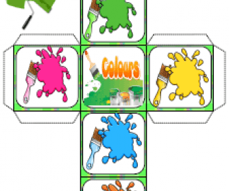 Colours Dice