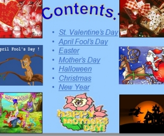 Favourite English Holidays [PPT Presentation]