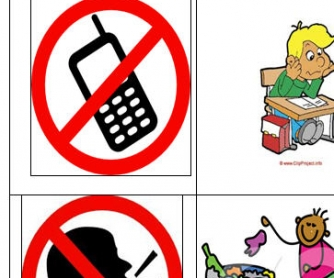 School Rules: Must & Mustn't