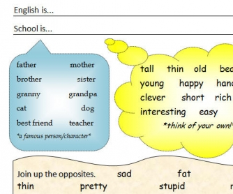 Adjectives Writing Prompts for Age 9+
