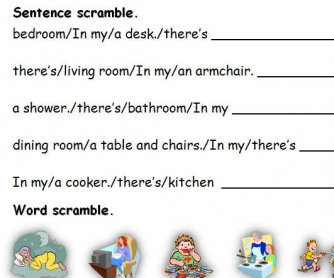 In My House: Vocabulary Review