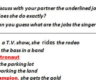 Song Worksheet: She's Not Just A Pretty Face by Shania Twain