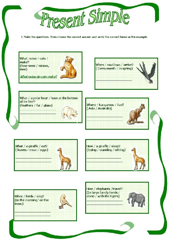 suggested activity to improve simple present tense essay Present tense worksheet, tense practice set for class 10, 12 and 1st grade, 2nd grade, 3rd grade english teachers present tense exercises with answers, simple present tense exercises with answers.