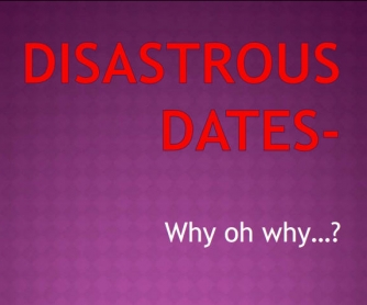 A Disastrous Date