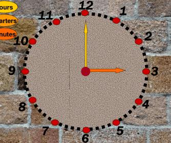 Clock to Teach Time