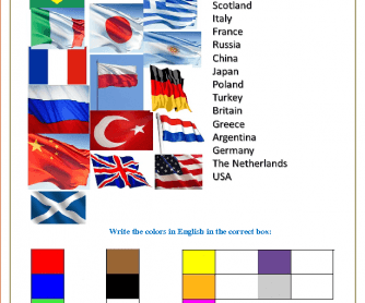 Countries, Nationalities and Flags