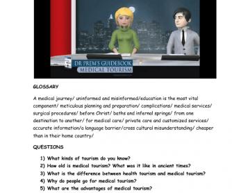 Video Worksheet: Medical Tourism