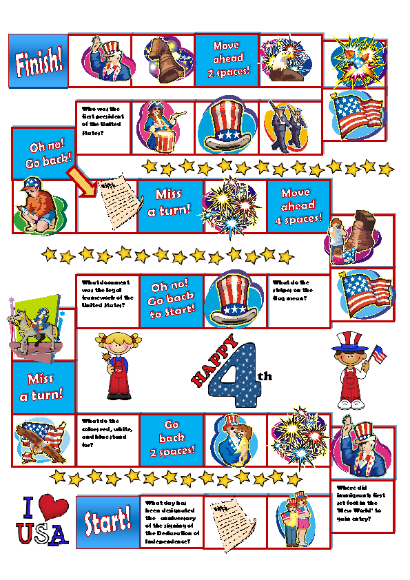 image about 4th of July Trivia Printable named 14 Totally free Freedom Working day Lesson Applications, Freedom Working day