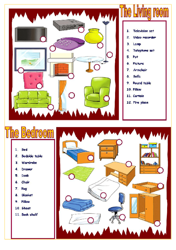 bedroom furniture clipart. house and furniture: bedroom living room furniture clipart