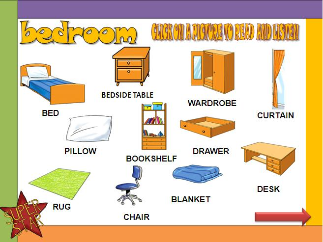The Bedroom Powerpoint Presentation
