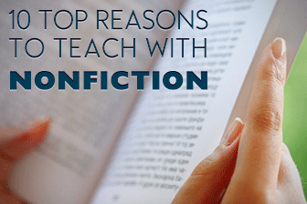 10 Top Reasons to Teach with Nonfiction in the ESL Classroom