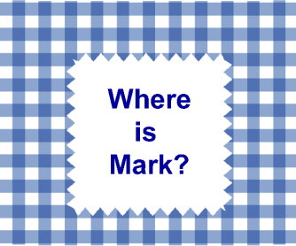 Where is Mark? PowerPoint Presentation