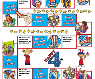 4th of July BoardGame