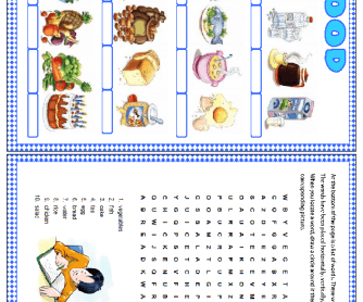 Food Wordsearch Puzzle