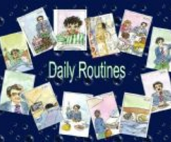 Daily Routines PowerPoint Presentation