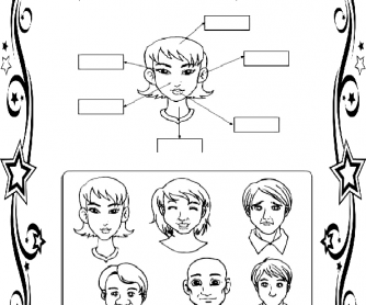 The Face Elementary Worksheet