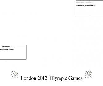 London 2012 Mascots
