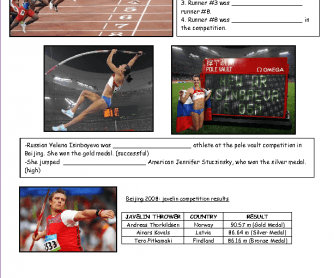 Olympic Games: Comparatives and Superlatives