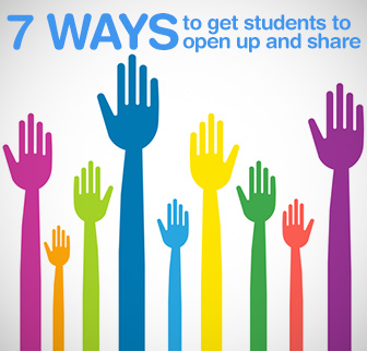 It�s Personal! 7 Ways to Get Students to Open up and Share