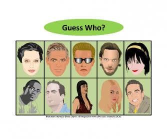 Who's Who/Guess Who - Adult Version