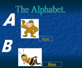 The Alphabet Flashcards