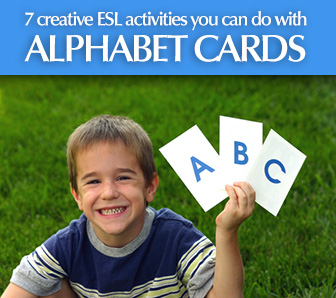 What You Can Do with Alphabet Cards – 7 Creative ESL Activities