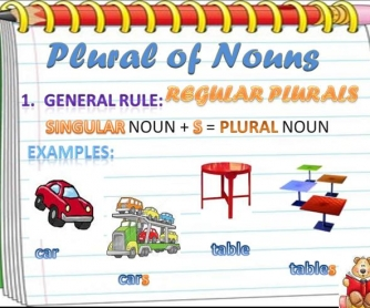 Plural of Nouns PowerPoint Presentation