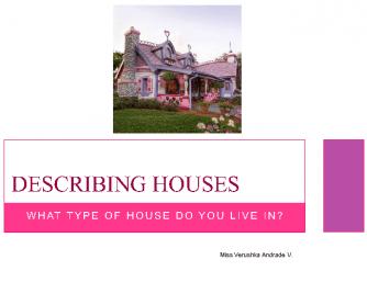 Describing Houses