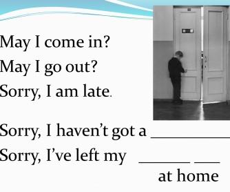 Classroom Expressions Presentation