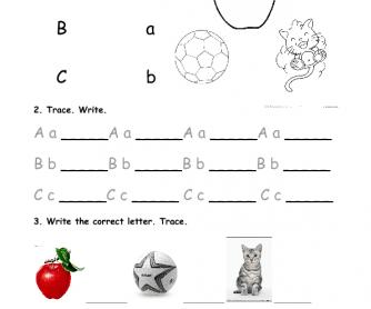 Alphabet Practice - ABC