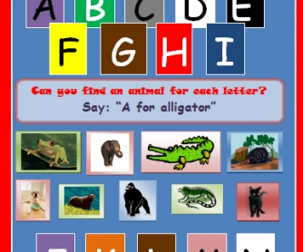 Alphabet and Colours