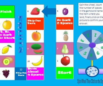 Fruits: Interactive Boardgame