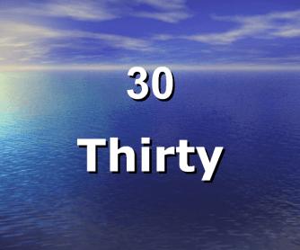 Numbers Worksheet [30-39]