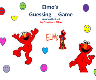 Elmo's Guessing Game (for young learners)